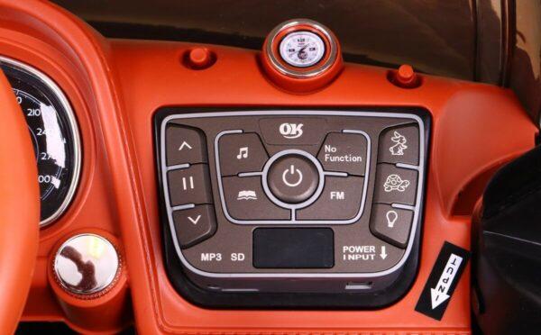 Masinuta Electrica Pentru Copii Bentley Bentayga (2158) Alb