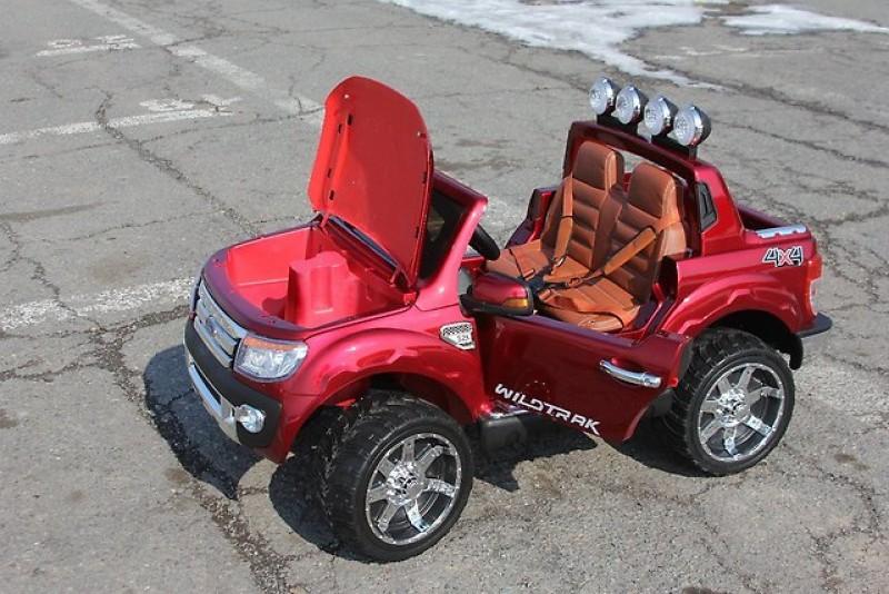 masinuta-electrica-pentru-copii-ford-ranger-150-visiniu-metalizat-4