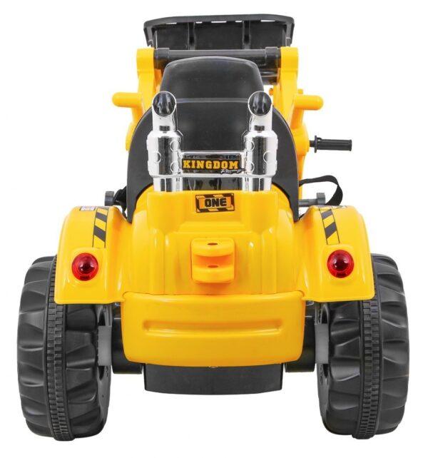 Tractor electric pentru copii (328) Galben