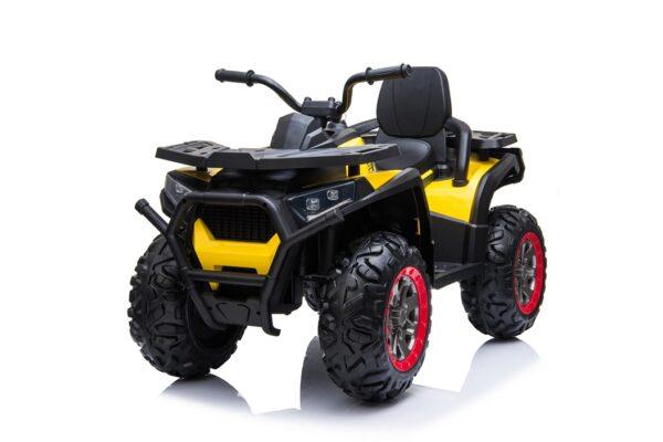 ATV electric pentru copii 4×4 cu telecomanda Desert 900 (XMX607) Galben