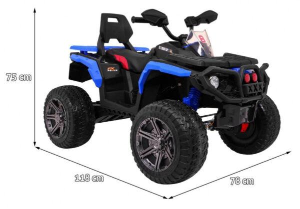 ATV electric pentru copii 4×4 (3588) Albastru