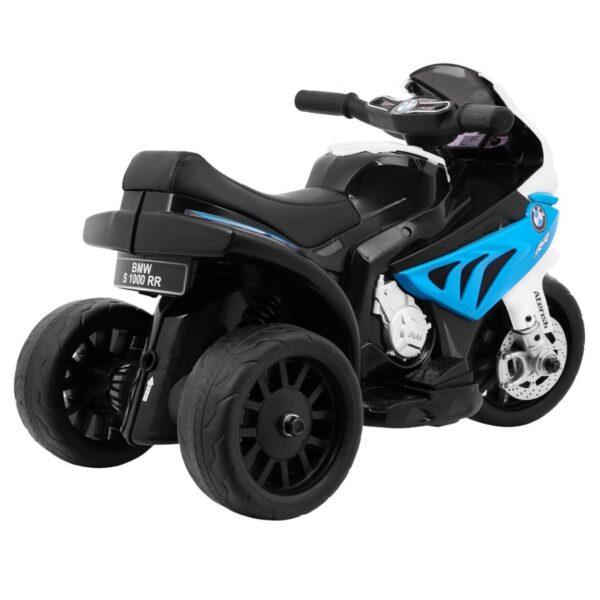 Tricicleta electrica pentru copii mica, BMW S1000 RR (5188) Albastru