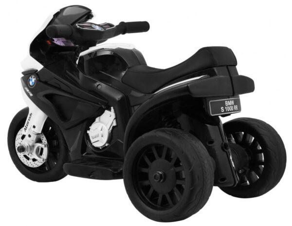 Tricicleta electrica pentru copii mica, BMW S1000 RR (5188) Negru
