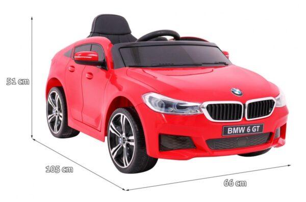 Masinuta electrica pentru copii BMW GT 640i (2164) Rosu