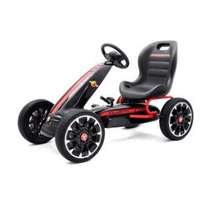 kart-cu-pedale-pentru-copii-fiat-500-abarth-9388-negru-2