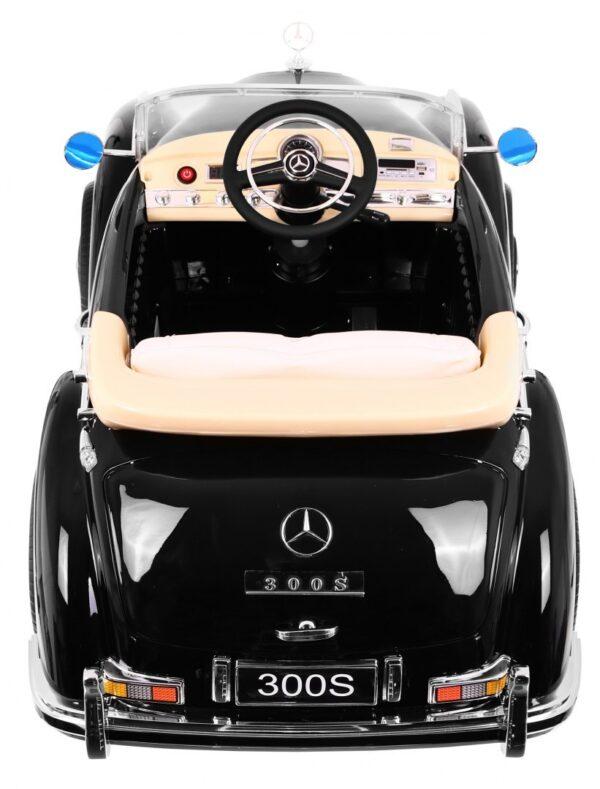 Masinuta electrica pentru copii Mercedes Benz 300S (LS618) Negru metalizat
