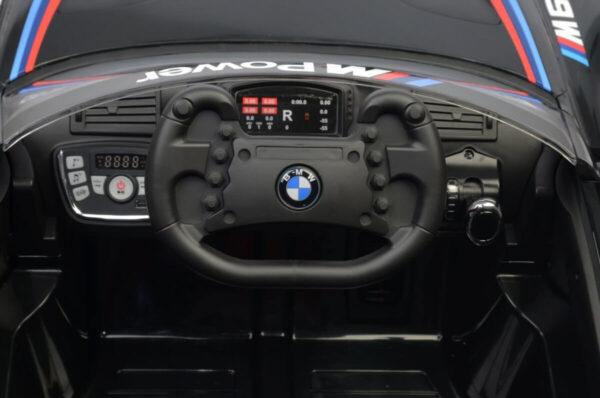 Masinuta electrica pentru copii BMW M6 GT3 (6666), Negru