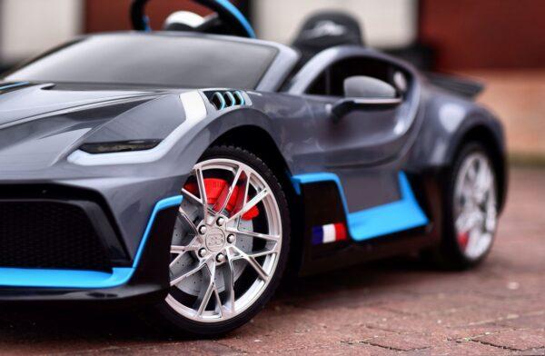 Masinuta electrica pentru copii Bugatti DIVO (HL338) Gri