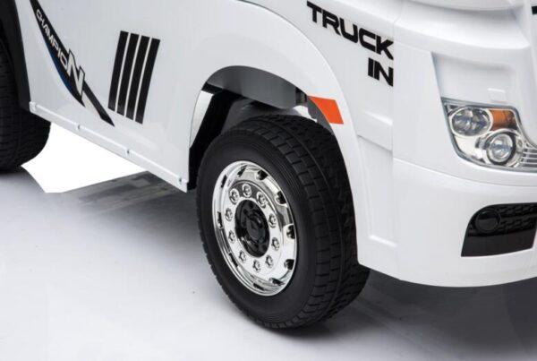 Masinuta electrica penru copii Camion Mercedes Benz ACTROS (358) Alb
