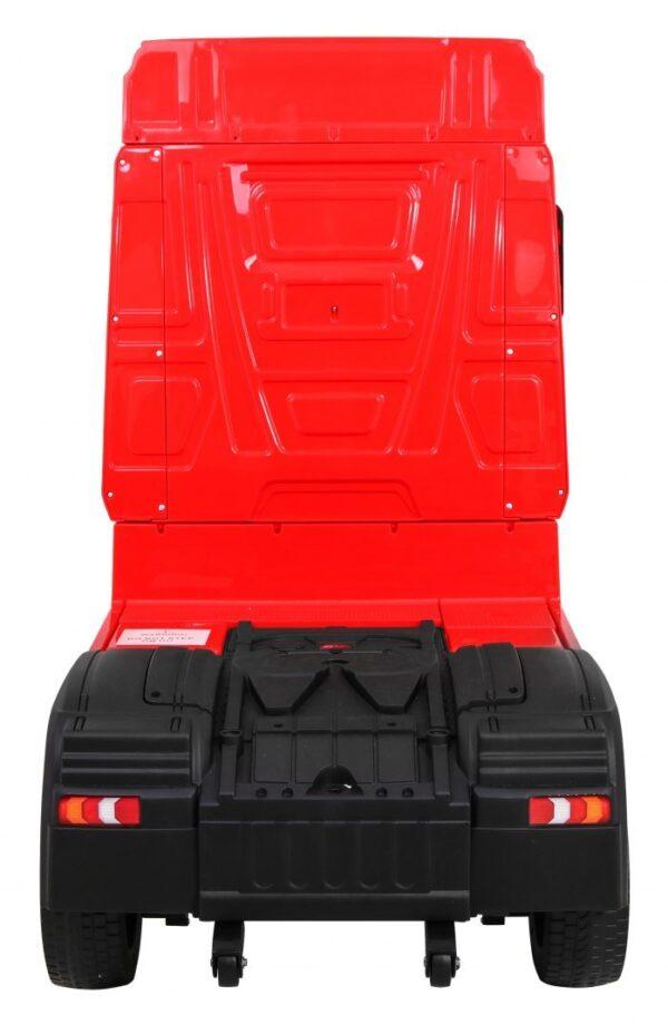 Masinuta electrica penru copii Camion Mercedes Benz ACTROS (358) 4×4, Rosu