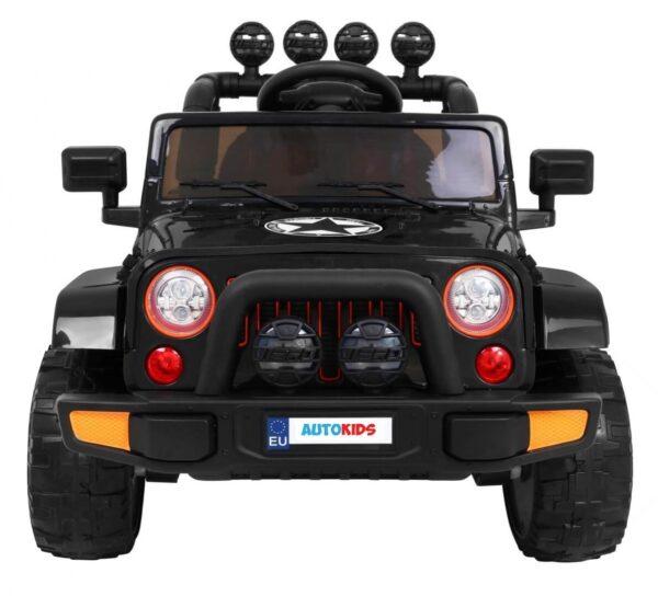 Masinuta electrica pentru copii FULL TIME 4WD (7588) 4×4, Negru
