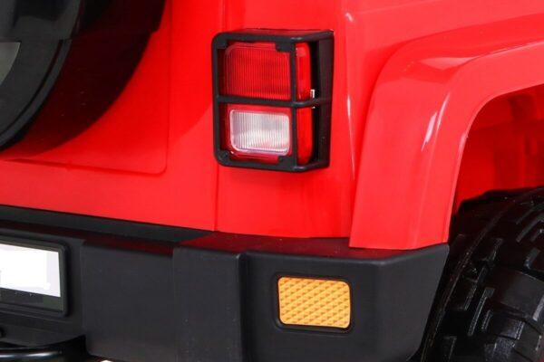 Masinuta electrica pentru copii FULL TIME 4WD (7588) 4×4, Rosu