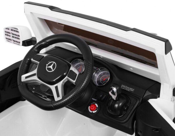 Masinuta electrica pentru copii Mercedes AMG G63 6×6 (1888) Alb