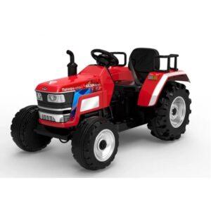 tractor-electric-pentru-copii-cu-roti-mare-blazin-2788-rosu