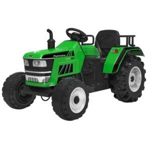 tractor-electric-pentru-copii-cu-roti-mare-blazin-2788-verde