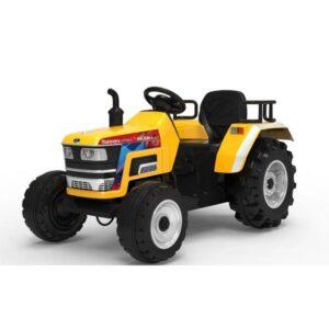 tractor-electric-pentru-copii-cu-roti-mare-blazin-2788-verde-galben