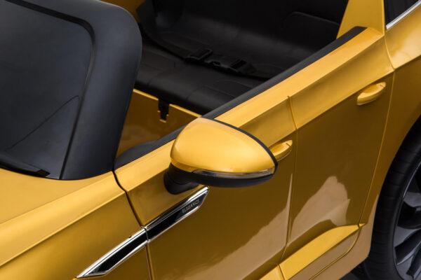 Masinuta electrica pentru copii Volkswagen Arteon (DK-F888) Auriu metalizat
