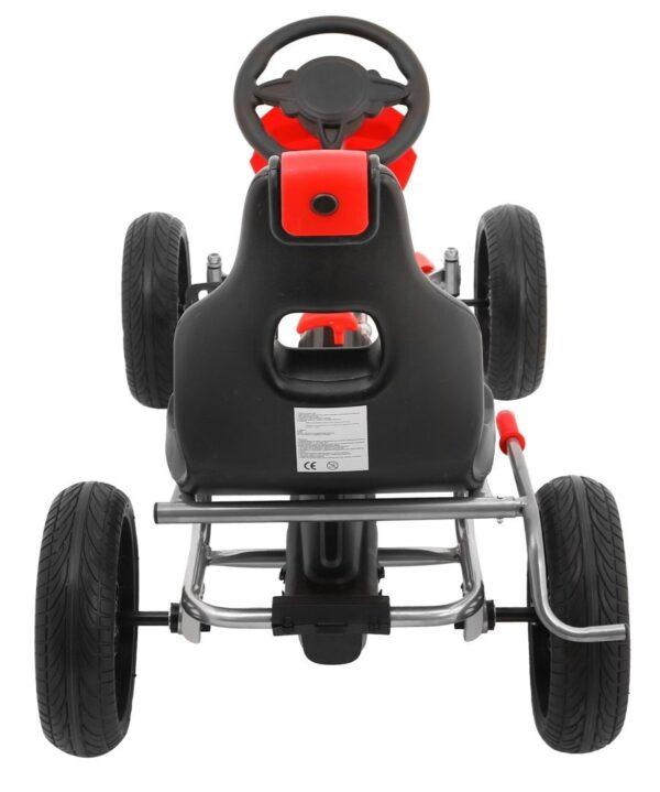 Kart cu pedale pentru copii Grand Ride (1502) Rosu