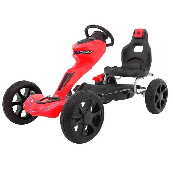 kart-cu-pedale-pentru-copii-grand-ride-1502-rosu