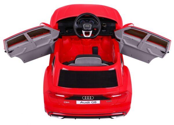 Masinuta electrica pentru copii AUDI Q8 LIFT (2066) Rosu