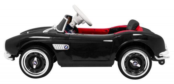 Masinuta electrica pentru copii BMW 507 Retro (1938) Negru