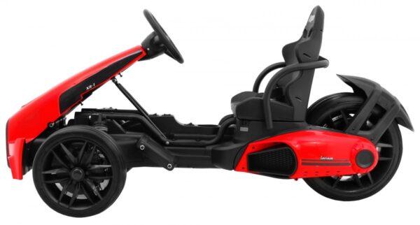 """Kart electric pentru copii 12 volti """"Bolid XR-1"""" cu 3 roti (9939) Rosu"""
