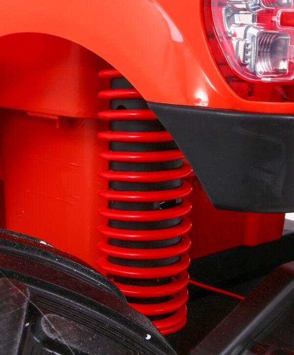 Masinuta Electrica Pentru Copii Ford Ranger Monster 550 Portocaliu