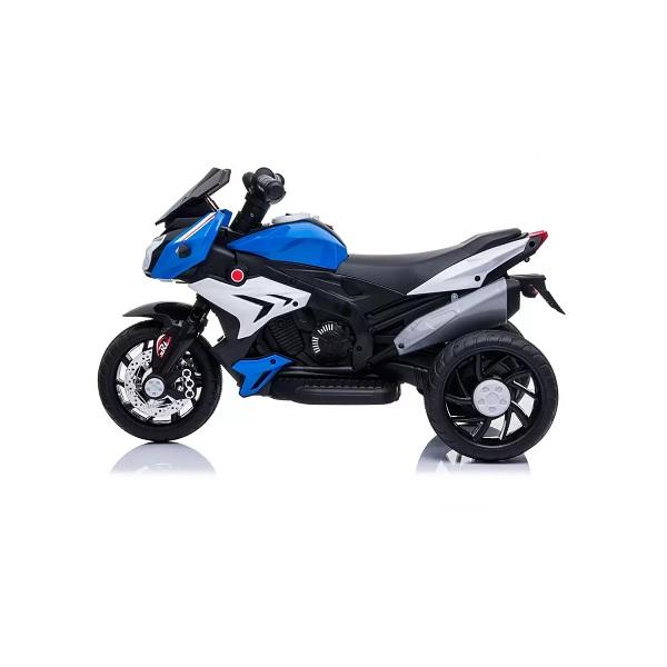 Motocicleta electrica pentru copii CHAMP (LZ-801) 6 volti, Albastru