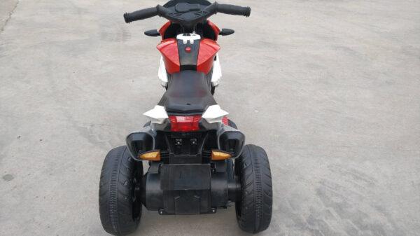 Motocicleta electrica pentru copii CHAMP (LZ-801) 6 volti, Rosu