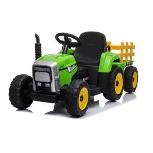 tractor-electric-cu-remorca-pentru-copii-blow-truck-mx-611-verde