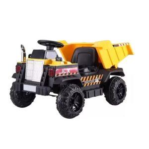 masinuta-electrica-pentru-copii-construction-truck-cu-basculanta-s606-galben