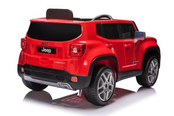 Masinuta Electrica pentru copii Jeep Renegade (181) ROSU
