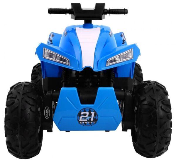 ATV electric pentru copii QUAD SPORT RUN 4X4 (2888) Albastru