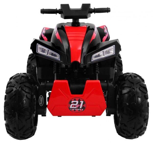 ATV electric pentru copii QUAD SPORT RUN 4X4 (2888) Negru