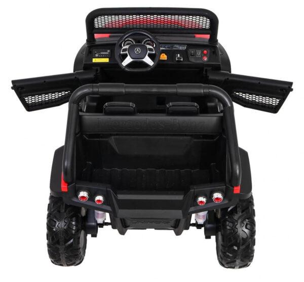 masinuta-electrica-pentru-copii-mercedes-unimog-4x4-rosu-8