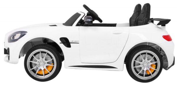 Masinuta elecrtrica pentru copii MERCEDES-AMG GT R Coupe 4×4 (HL289) Alb metalizat