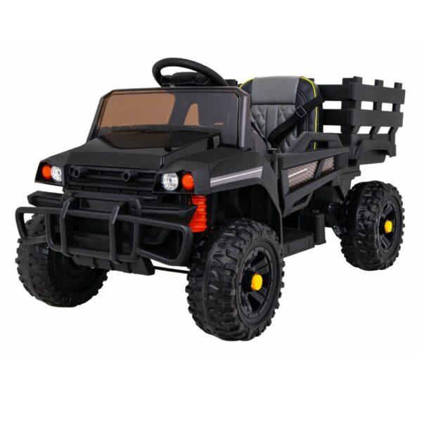 Tractor electric pentru copii FARMER PICK-UP (0926) Negru