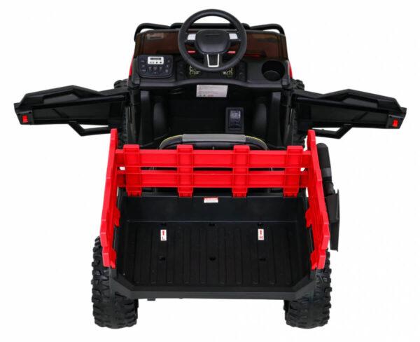 Tractor electric pentru copii FARMER PICK-UP (0926) Rosu