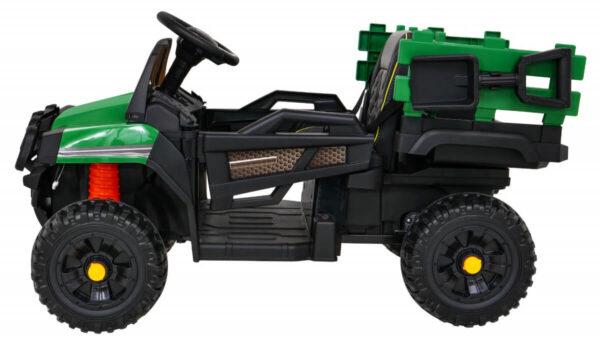 Tractor electric pentru copii FARMER PICK-UP (0926) Verde