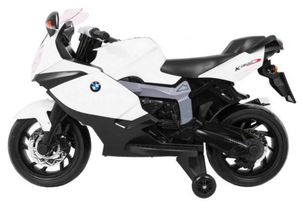 Motocicleta electrica pentru copii BMW K1300S (283) Alb
