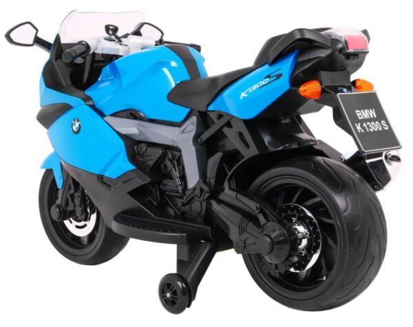 Motocicleta electrica pentru copii BMW K1300S (283) Albastru