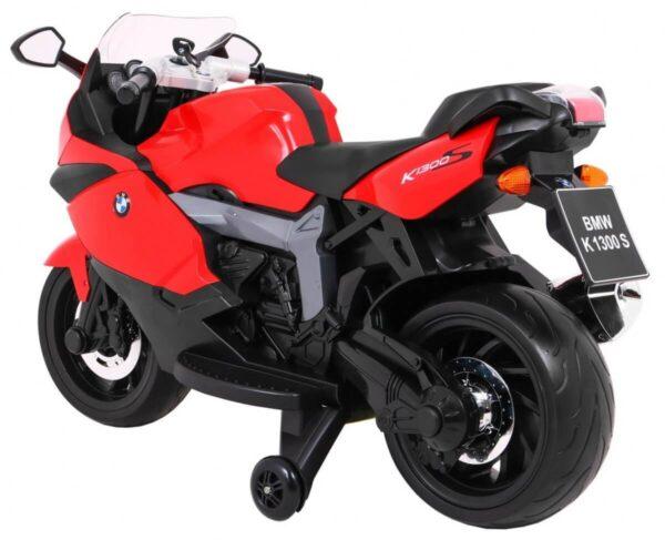 Motocicleta electrica pentru copii BMW K1300S (283) Rosu