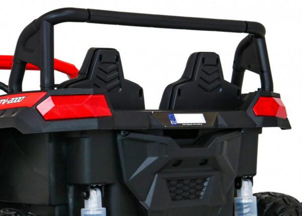 Masinuta electrica pentru copii Buggy Perfecta 24 Volti (A032) sarcina pana la 100kg, Rosu