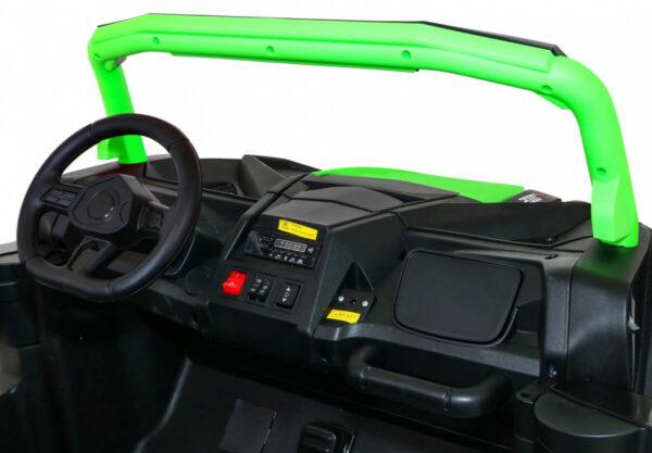Masinuta electrica pentru copii Buggy Perfecta 24 Volti (A032) sarcina pana la 100kg, Verde